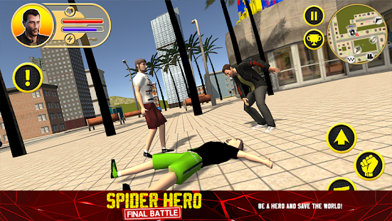 Spider Hero: Final Battle Screenshot