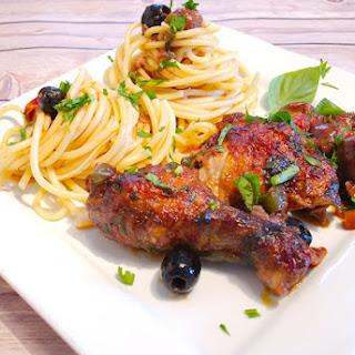 Italian Chicken Cacciatore Stew Recipe