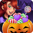 Halloween Candy Shop - Food Cooking Game icon