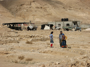 Photo: Bedouin dwelling next to the site...בית בדוי סמוך לאתר