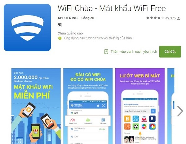 Mẹo nhỏ giúp bạn truy cập Wifi miễn phí mọi lúc mọi nơi trên smartphone