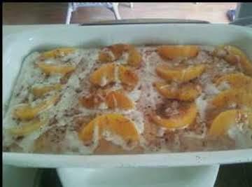 Peachy Cake Semi Homemade