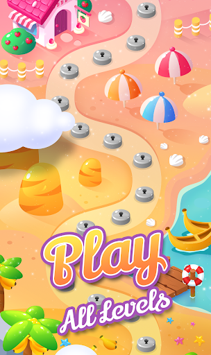Code Triche Fruity Garden – Fruit Match 3 Sliding Puzzle apk mod screenshots 3
