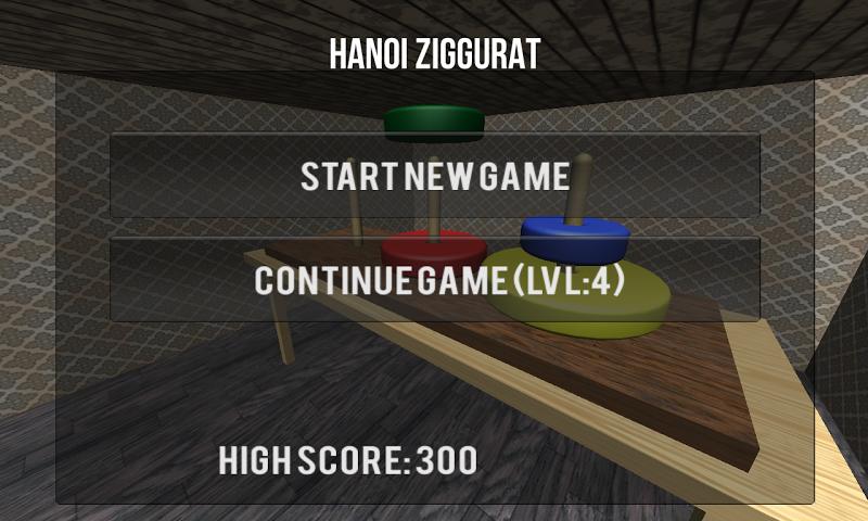 Скриншот Hanoi Ziggurat-Tower of Hanoi