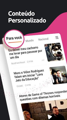 TopBuzz: Notu00edcia e diversu00e3o em um su00f3 app 8.9.2.01 screenshots 1