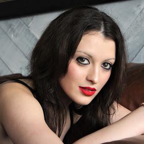 seduction by Marsha Grimm - Nudes & Boudoir Boudoir ( lips, eyes,  )