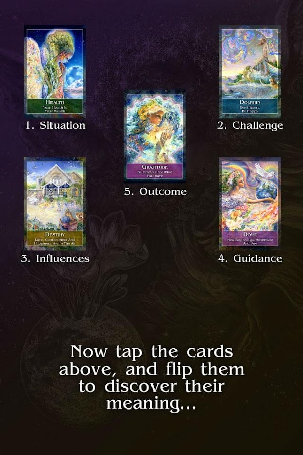 Mystical Oracle Cards- screenshot