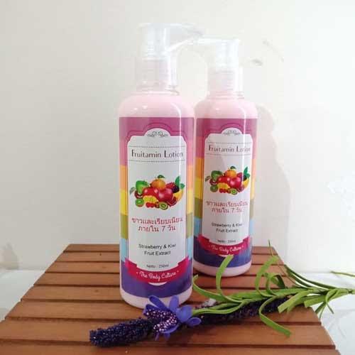 fruitamin lotion - Handbody Untuk Kulit Sensitif
