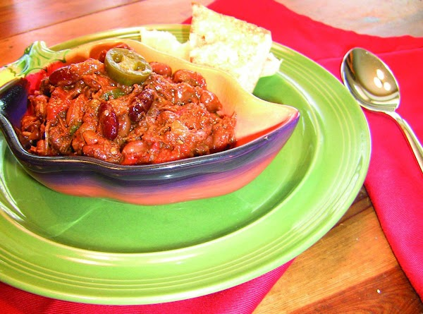 South West Chipotle Chili Recipe