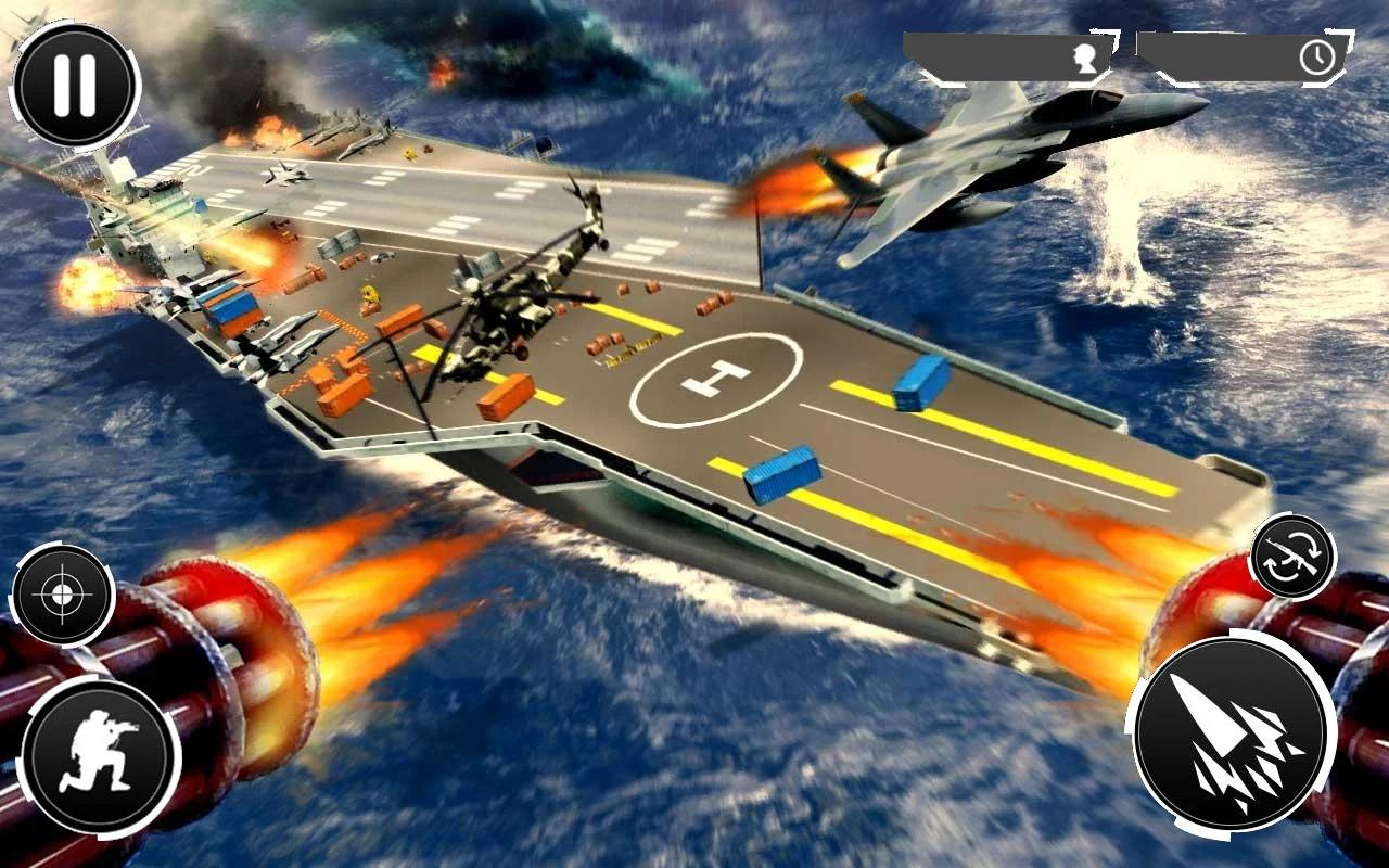 Navy Gunner Shoot War 3D- screenshot