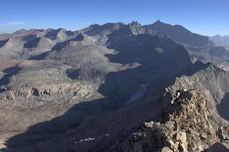 Photo: Kaweah Peaks from Triple Divide Peak
