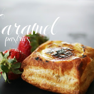 Salted Caramel Crème Pastries