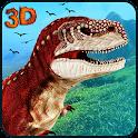 Safari Dinosaur hunting 3d icon