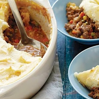 Sheep And Rosemary Shepherds Pie With Broiled Garlic Pound