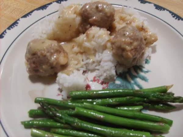 Meatballs & Cream Of Chicken Soup Recipe