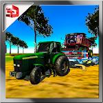 Farming Tractor Machine Transport & Modern Farmer