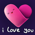 Love Wallpapers: I Love You For your phone screen icon