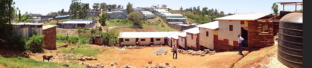 Photo: Kanyorosha school under construction, is one of the 6 schools that will use Kangemi-Pesa for tuition.