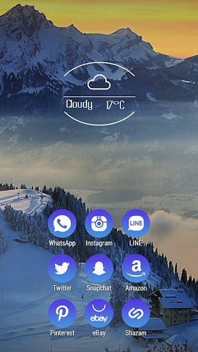 Blue Icon Pack