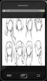 Anime Girl Zeichnung Tutorial Apps Bei Google Play