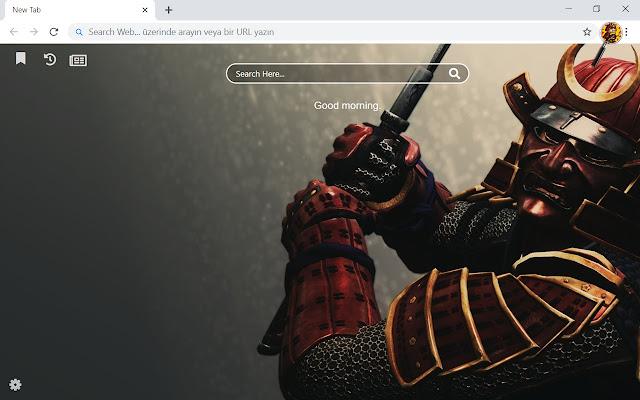 Samurai HD Wallpapers Theme New Tab