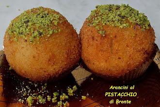 Photo: Arancini al Pistacchio di Bronte