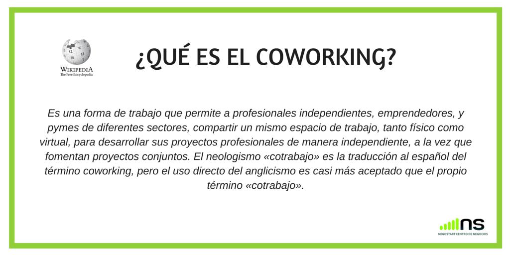 Coworking que es wikipedia