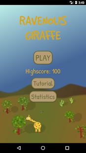 Ravenous Giraffe - náhled