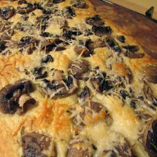 MiMi's Easy Mushroom Flatbread.