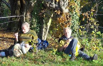 Photo: 23 november, 15 graden, heerlijke temperatuur voor de picknick.