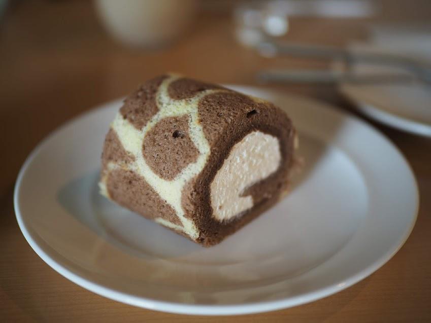 キリン珈琲のロールケーキ
