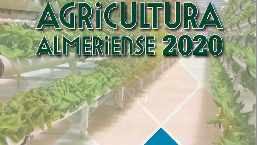 Portada del Anuario de la Agricultura Almeriense 2020.