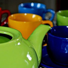 Coffee Cups by Leony Sibug - Artistic Objects Cups, Plates & Utensils ( cup, kettle, cups, coffee, colorful coffee cups, ceramic cups, coffee cups, pwccups, ceramic kettle )
