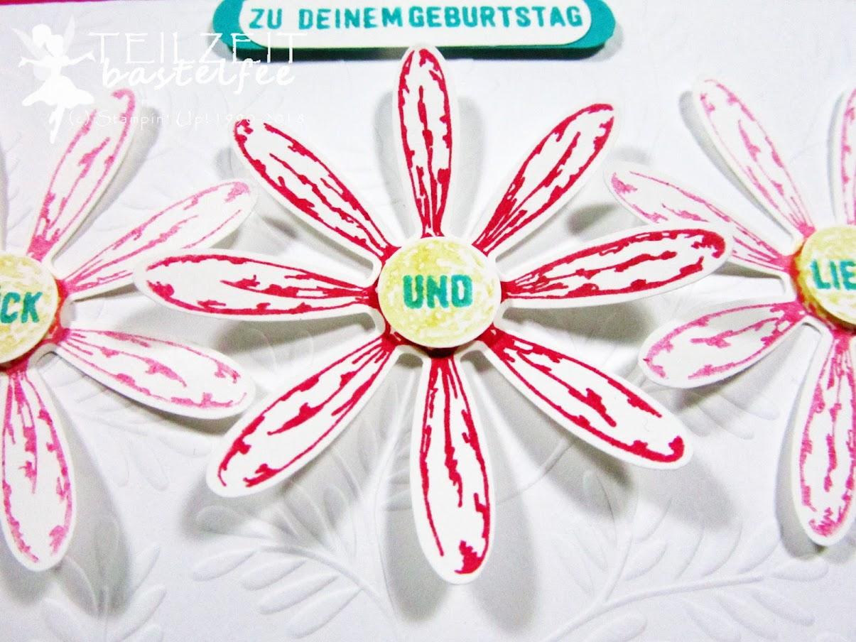 Stampin' Up! - Inkspire_me, Sketch Challenge, Gänseblümchengruß, Daisy Delight, Bannerweise Grüße, Thoughtful Banners
