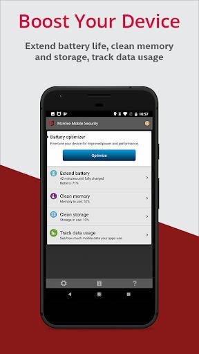 McAfee Mobile Security & Lock screenshot 4