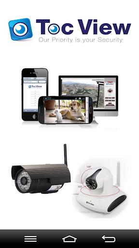 TocView2 톡뷰2 -IP카메라 개인용CCTV