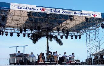 Photo: At Sunfest 2002 in W.Palm Beach