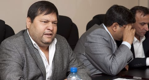 Ajay Gupta and his younger brother Atul. File photo.