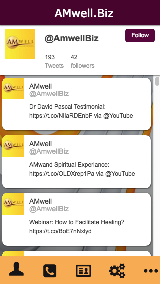 AMwell.Biz- screenshot