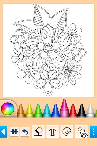 Mandala Coloring Pages filehippodl screenshot 9