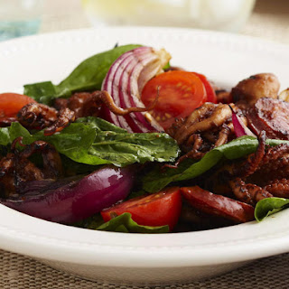 Grilled Octopus and Chorizo Salad
