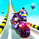 Gangster Bike Stunts 3D - Extreme City GT Racing