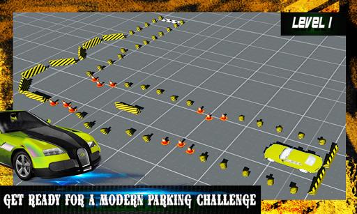 3D市駐車場ゲーム