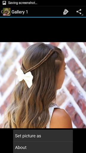 可愛的女孩髮型