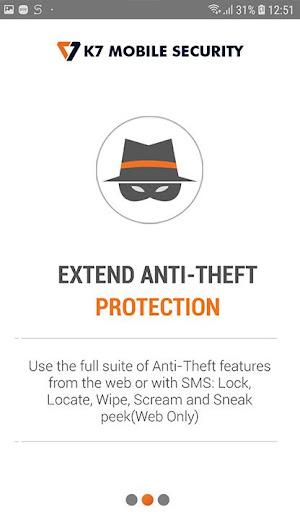K7 Mobile Security 3.1.19 screenshots 2