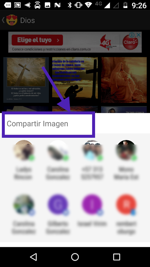 Screenshots of Imágenes para Whatsapp for iPhone