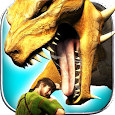 Fire Flying Dragon Simulator Warrior Sky Rider 3D icon