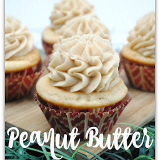 Light and Creamy Peanut Butter Cupcake
