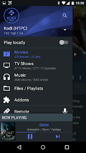 Yatse, the Kodi / XBMC Remote Screenshot 1