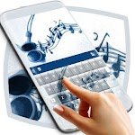 Music Keyboard Theme Icon